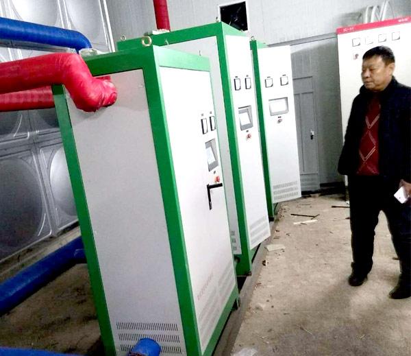 吉lin国贸学校de电磁采暖炉改造案例