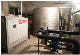 陕西某政府210KW电ci采nuan炉供nuan