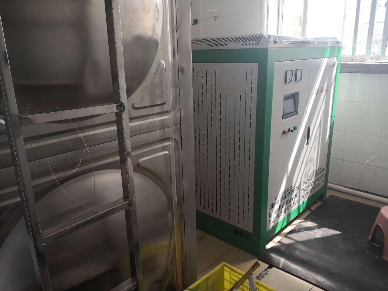 宁夏gu原监狱用电磁锅炉供应生活热水